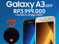 Samsung Galaxy A3 (2017) Berkamera Depan 8 MP Harga Rp 3.9 Jutaan