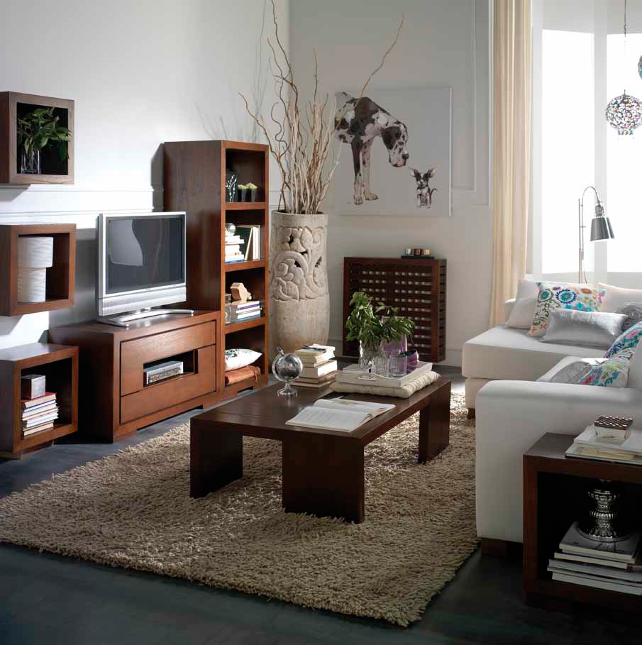 muebles de sal n como decorar un salon colonial. Black Bedroom Furniture Sets. Home Design Ideas