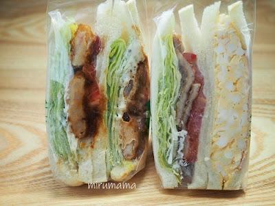 イーアンドエムのサンドイッチ