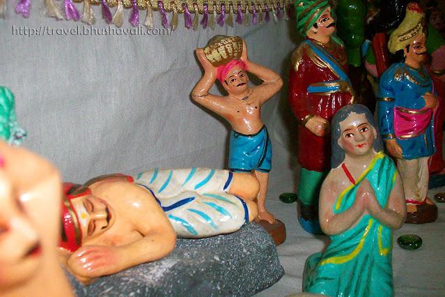 Navarathri Golu Pittukku mann sumandha leelai