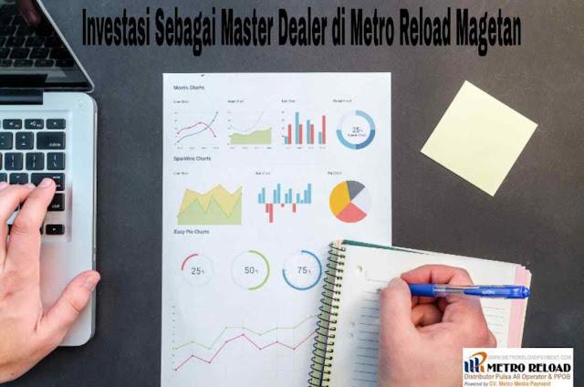 Investasi Sebagai Master Dealer di Metro Reload Magetan