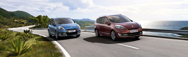 Renault presenta la nueva gama Scenic 2012