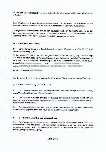 Scan: Beteiligungs- / Abtretungsvertrag Jens W. Billion-Event-Online Inc / Seite 02