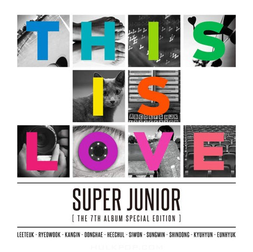 Super Junior – The 7th Album Special Edition `THIS IS LOVE` (FLAC + ITUNES PLUS AAC M4A)