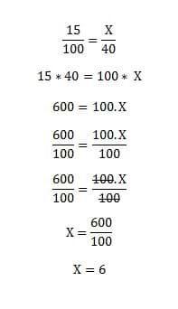 صورة توضيحية: طريقة حساب النسبة المئوية لمبلغ معين وبين رقمين