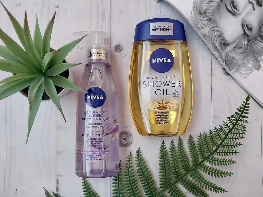 NIVEA pielęgnujący olejek pod prysznic