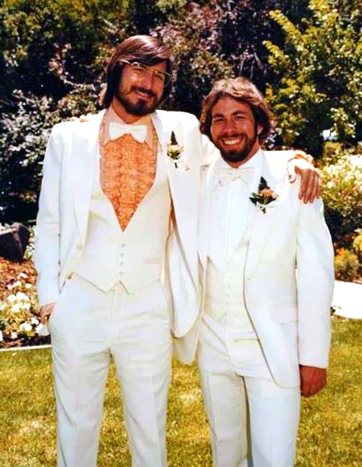 Steve Jobs and Steve Wozniak Apple Pinterest Steve wozniak - jobs that are left