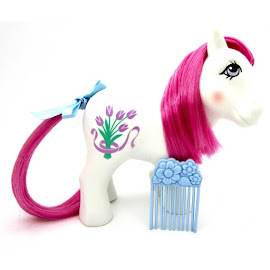 MLP Tulip Year Eight Flower Ponies G1 Pony