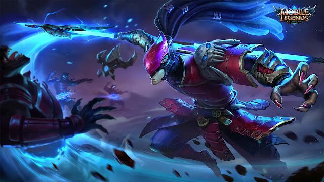 Wallpaper Skin Alpha - Crimson Warrior
