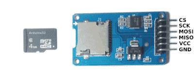 Cara Akses Modul Micro SD Card Adapter Arduino Catalex