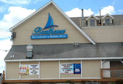 Boathouse Restaurant  and Marina Deck in Wildwood New Jersey