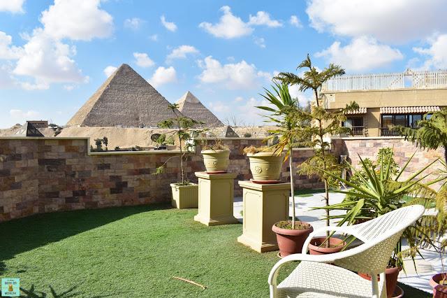 Hotel en Guiza con vista a las pirámides