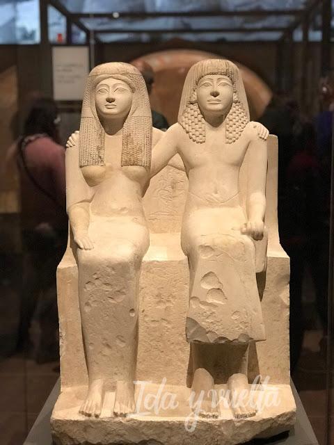 Museo Egipcio de Turín un matrimonio