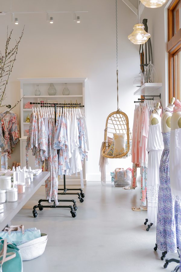 Retail Store Plum Pretty Sugar Bridesmaid Robes And