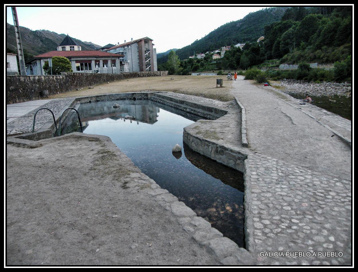Galicia pueblo a pueblo piscinas naturales del r o caldo for Piscinas en ourense