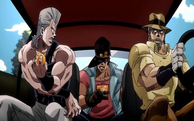 Jojo no Kimyou no Bouken: Stardust Crusaders adalah anime lain yang sangat keren seperti Hunter X Hunter