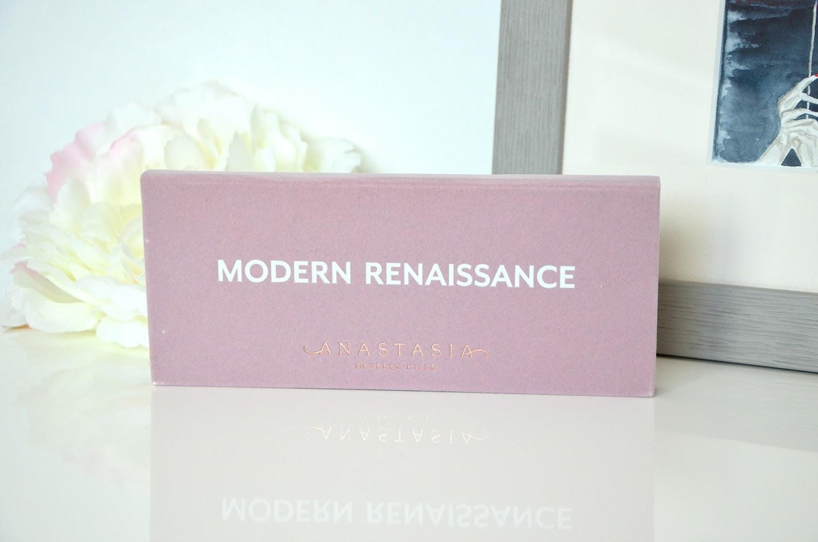 Anastasia Beverly Hills ABH palette Modern Renaissance fards à paupières eyeshadows
