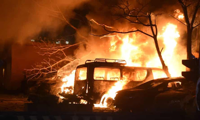 Blast hits a luxury hotel in the city of Quetta in Pakistan