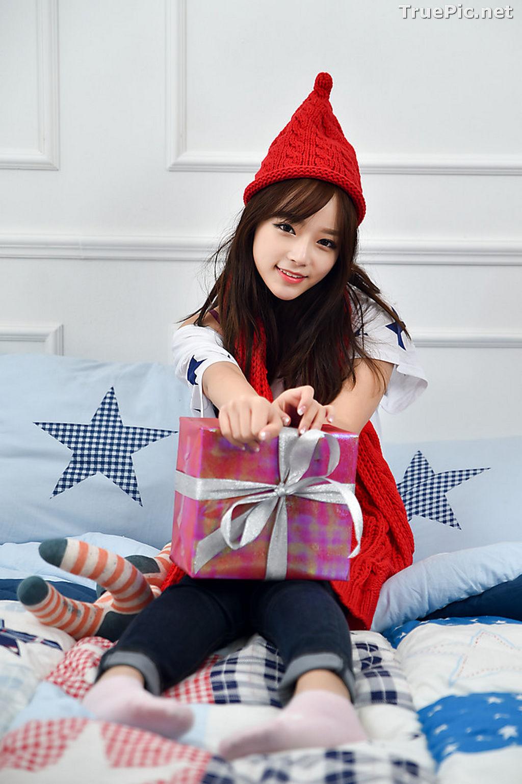 Image Korean Beautiful Model – Ji Yeon – My Cute Princess #2 - TruePic.net - Picture-8