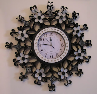 orologio quilling
