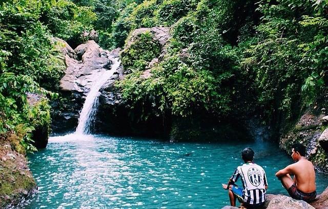 Air Terjun Tibu Ijo Lombok
