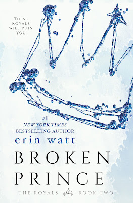 Broken Prince by Erin Watt (The Royals #2)⎜Review & Giveaway