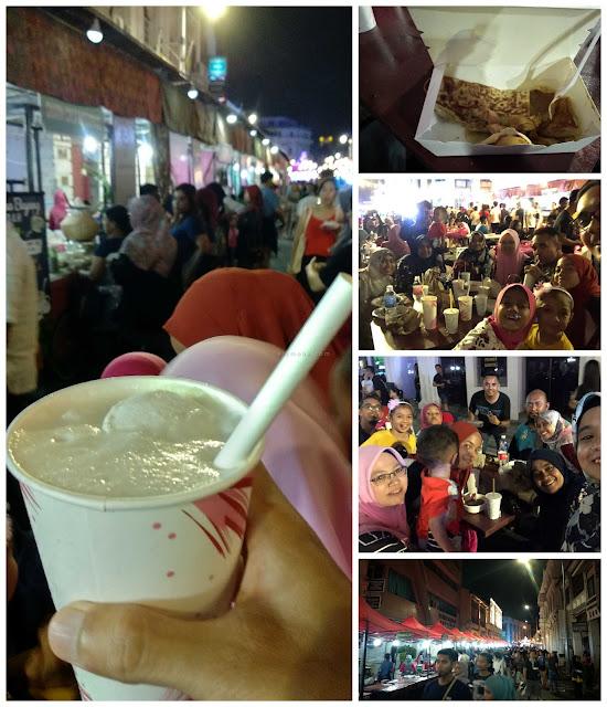 suasana penang street food festival, pengalaman ke Penang street food festival, psff