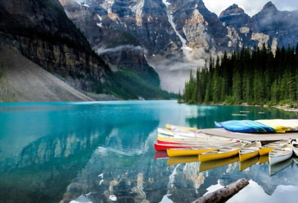 Een kampeertrip plannen om door Noord-Amerika te toeren