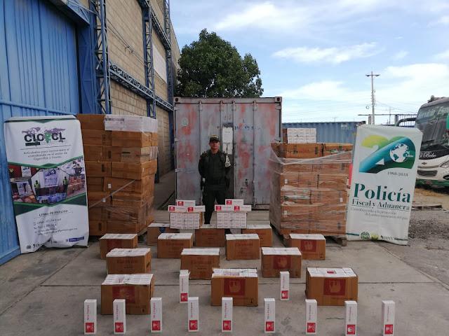 Cogen otro contrabando de cigarrillos en Maicao