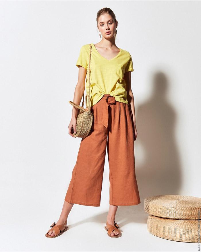 Remeras y pantalones capris primavera verano 2020.