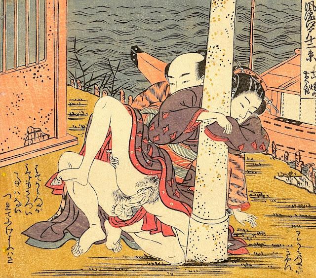 soda Koryusai - coppia che copula - sessualità - arte