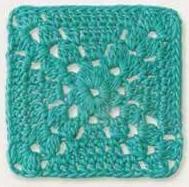 Patrón #857: Granny a Crochet