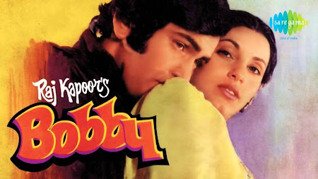 Poster Of Bollywood Movie Bobby (1973) 300MB Compressed Small Size Pc Movie Free Download worldfree4u.com