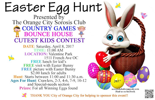 Annual Easter Egg Hunt, April 8th