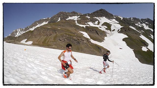 Trail en Vanoise