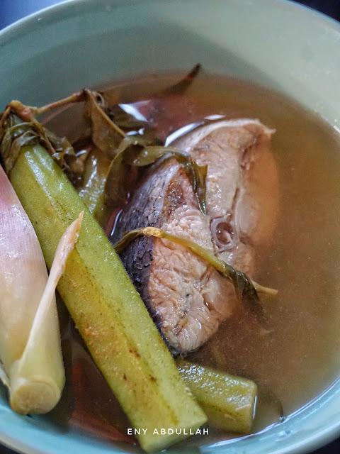 Asam Rebus Utara, Asam Rebus tenggiri, singgang ikan mudah, asam pedas utara