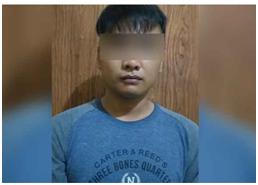 Pemuda Paruh Baya Diamankan Unit Reskrim Polsek Kota Nganjuk Karena Penyalahgunaan Narkoba