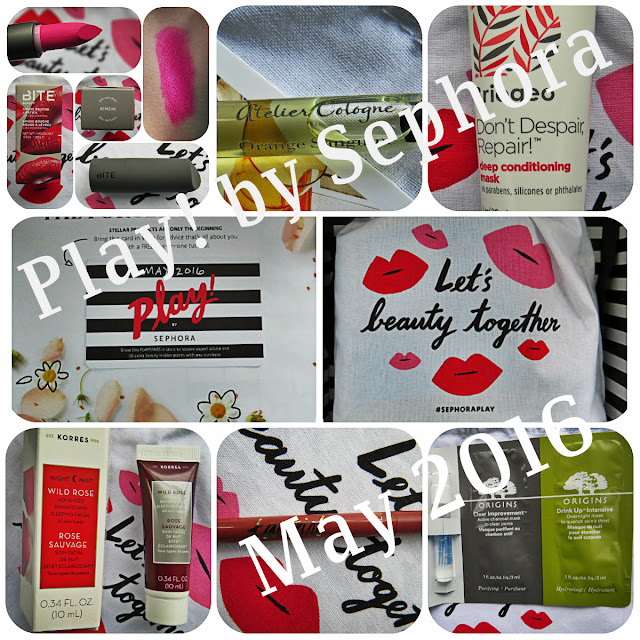 May 2016 Play! by Sephora Review