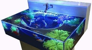 Ikan Koi Di Aquarium