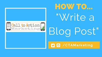 How to Write a Blog Post on Blogger