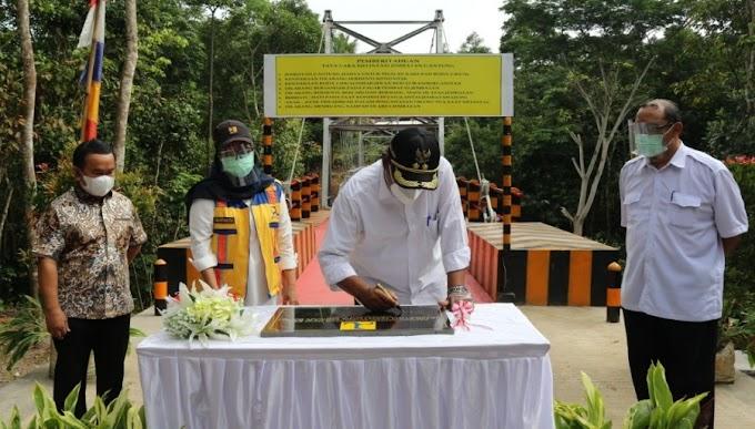 Resmikan Jembatan, Pandji Tirtayasa: Saya Harap Dapat Meningkatkan Pertumbuhan Ekonomi Masyarakat