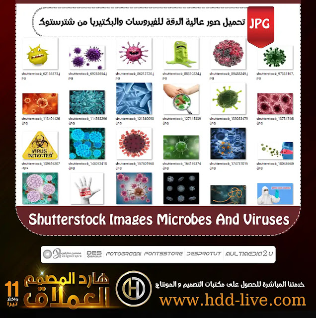 shutterstock image microbes and viruses and bacteria