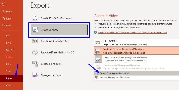 Cara Mengubah PPT Menjadi Video Lengkap dengan Suara
