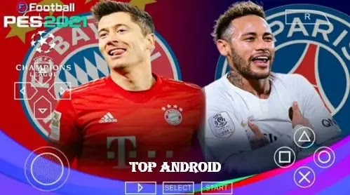 PES 2021 PPSSPP Chelito V8 UCL Edition Android Offline Best Graphics [600MB] New Menu & Transfers