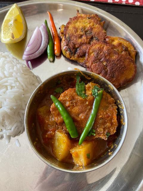 Macher Dim er Bora, Bengali Fish Roe Fritters