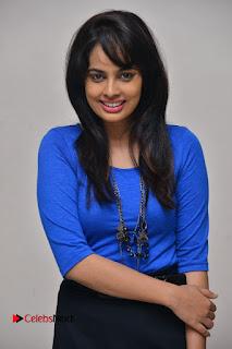 Actress Nandita Swetha Stills in Black Mini Skirt at Ekkadiki Potavu Chinnavada Movie Special Show  0042.JPG