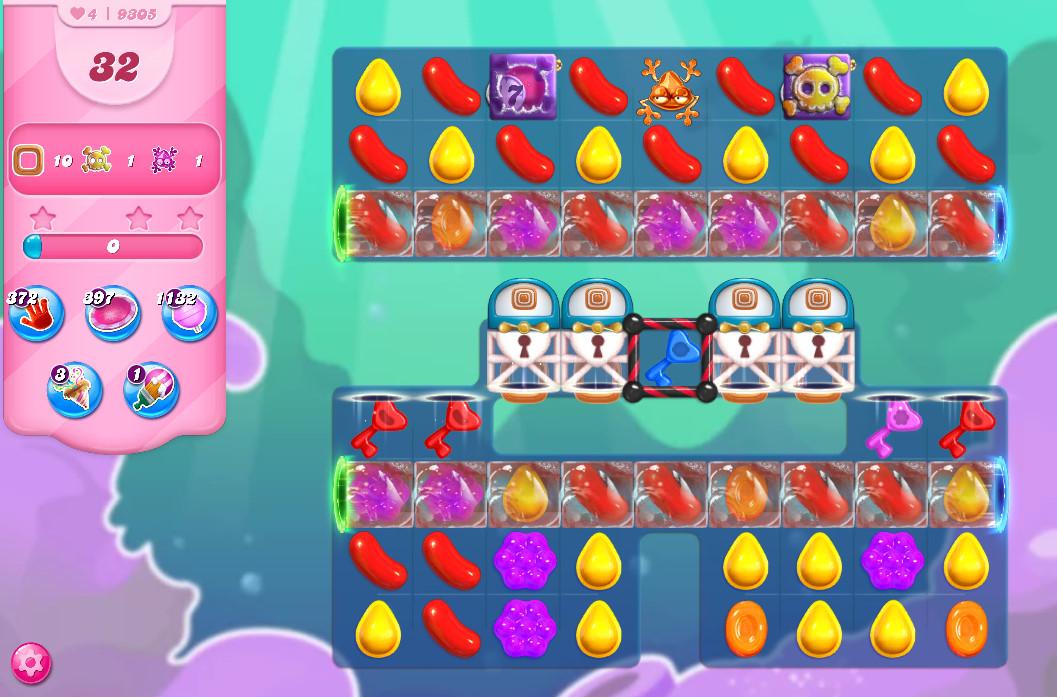 Candy Crush Saga level 9305