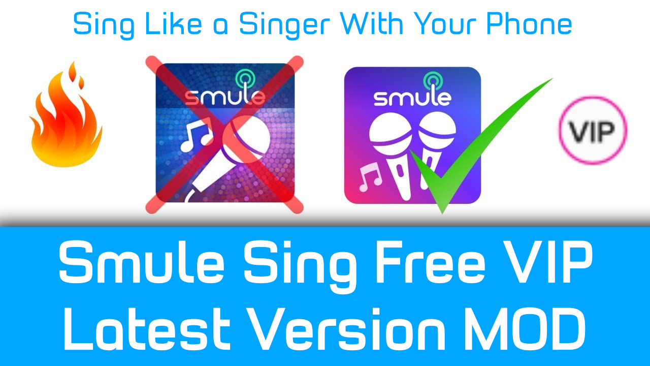 Smule Sing Latest Version Free VIP - Smule Sing MOD 6 1 9
