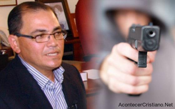 Pastor Alberto Solórzano violencia e inseguridad