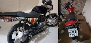 Polícia de Cubati apreende motos usadas por condutores na prática de rachas na PB 177